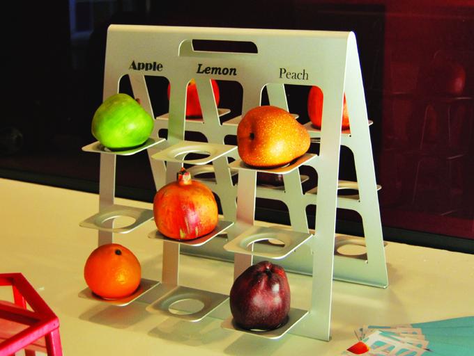Fruittiera set
