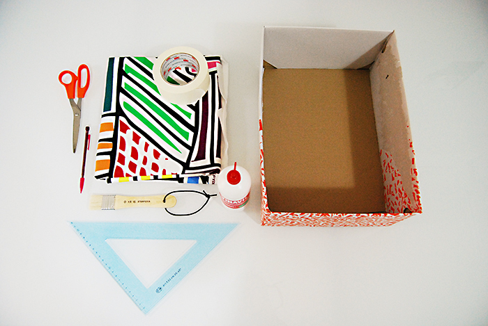 Come rivestire scatole di cartone nf68 pineglen for Scatole rivestite in stoffa tutorial