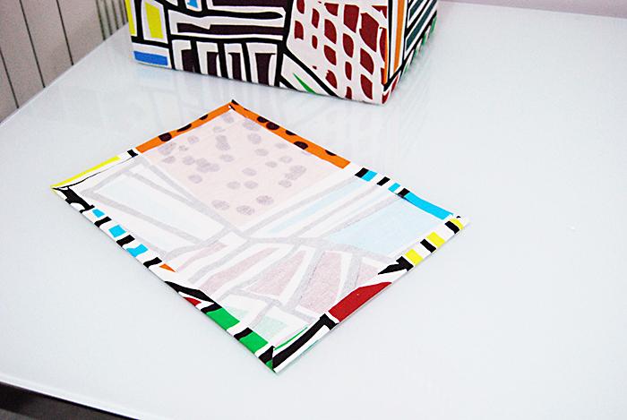 Diy Come Rivestire Una Scatola In Tessuto How To Cover A Box With