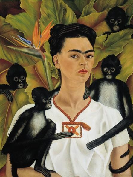 06-Frida-Kahlo-Autoritratto-con-scimmie-445x590