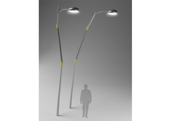 Brancusi outdoor light system